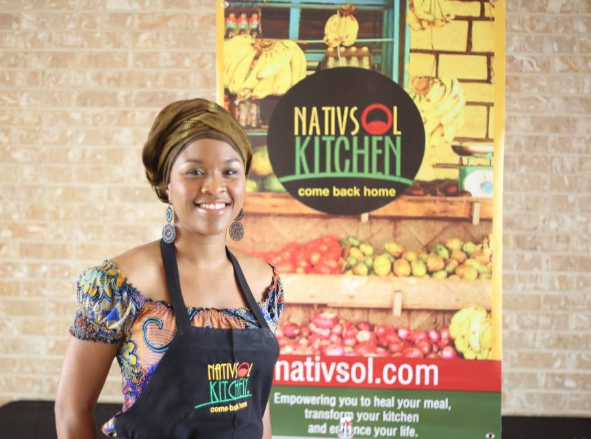 Tambra Raye Stevenson, MS Founder/Nutritionist NATIVSOL KITCHEN come back home Washington, DC