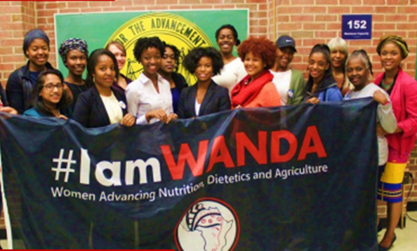 WANDA-- an initiative to encourage, engage and empower women & girls to advance their education and leadership in agriculture, nutrition and dietetics. At Howard U.